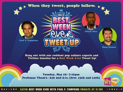 Tweet Up With The Best Week Ever Cast In Nyc The Comics Comic