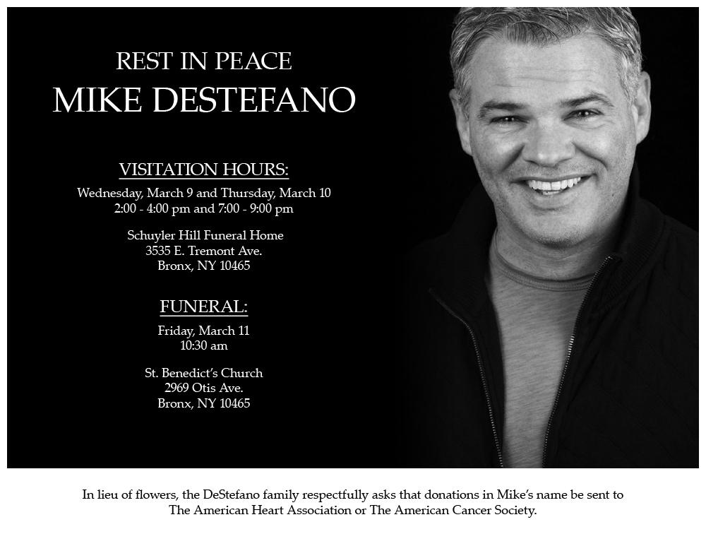 RIP Mike DeStefano   The Comic's Comic